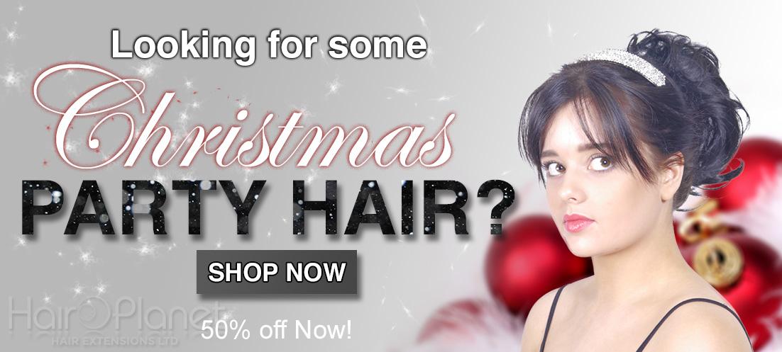 Hair Extensions | Xmas Party Hair